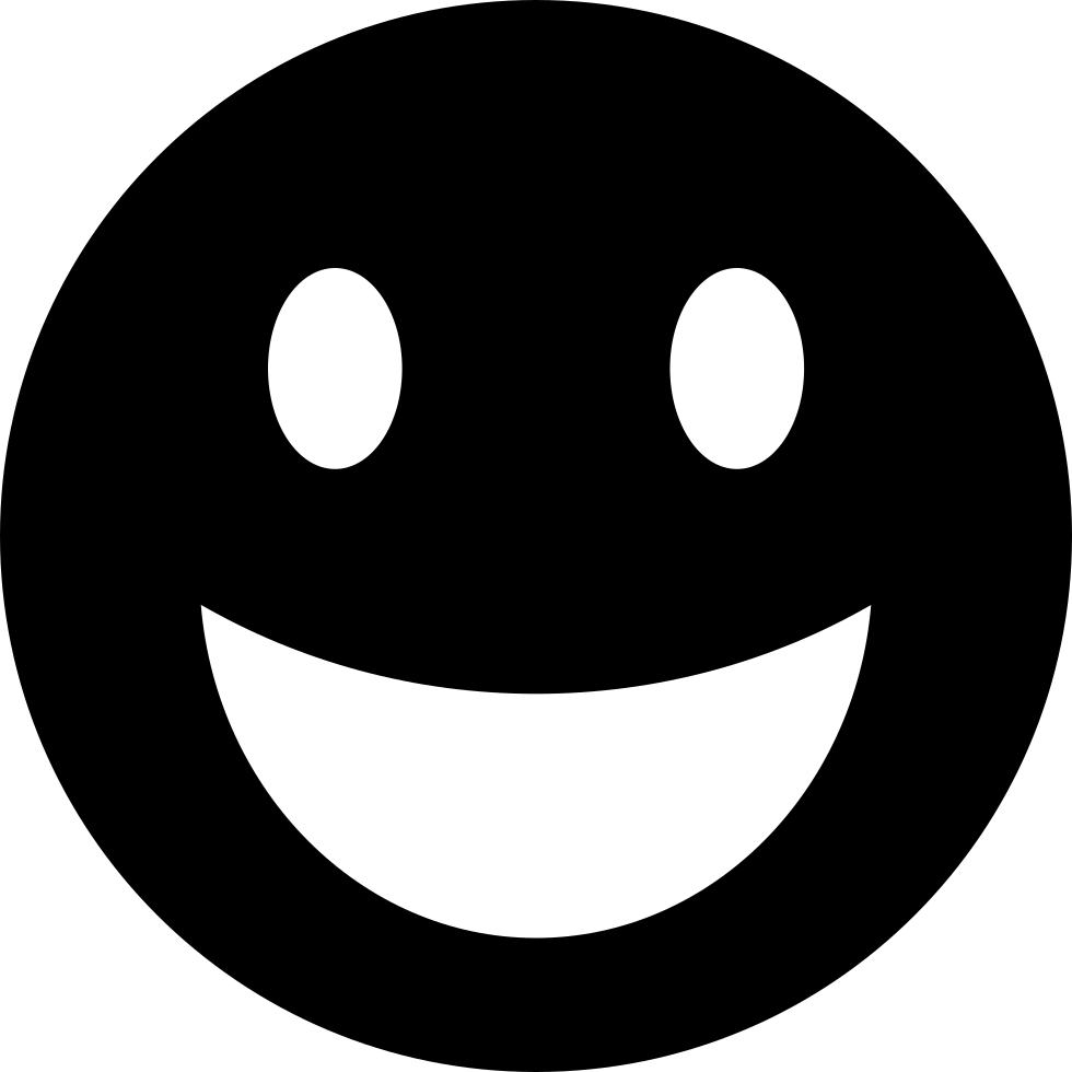 Happy Emoticon Smiley Face Svg Png Icon Free Download