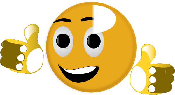 Smiley face thumbs up png. Clip art at clker