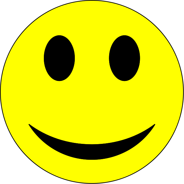 Smiley face transparent png. Background clipart panda free