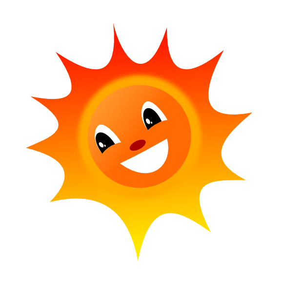 Smiley sun png. Clip art at clker