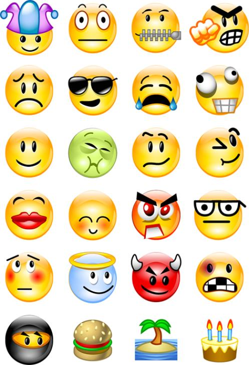 Smiling clipart emotion. Smiley emotions smile day
