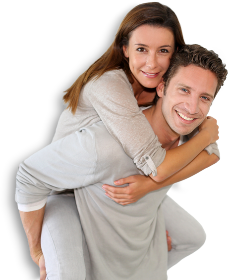 Smiling couple png. Aace home improvements
