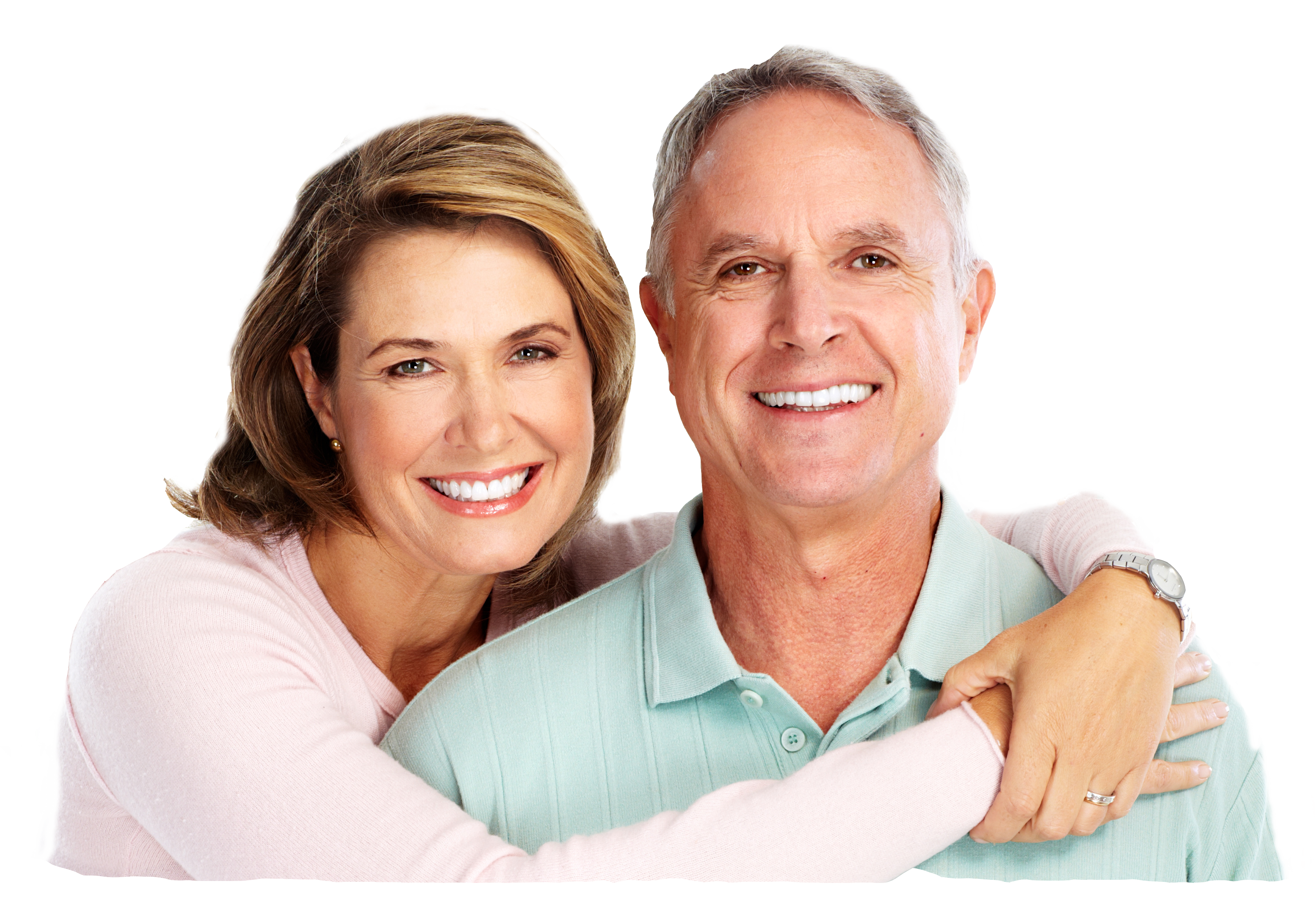 Smiling couple png. South loop chiropractor advanced