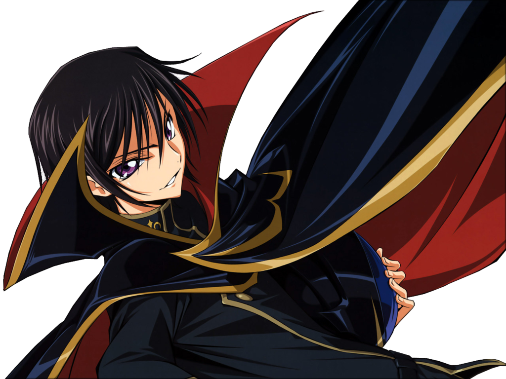 Smirk vector lelouch. Render by annaeditions on