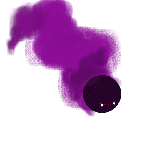 Smoke bomb png. Ghastly the by frozenwolfsoul