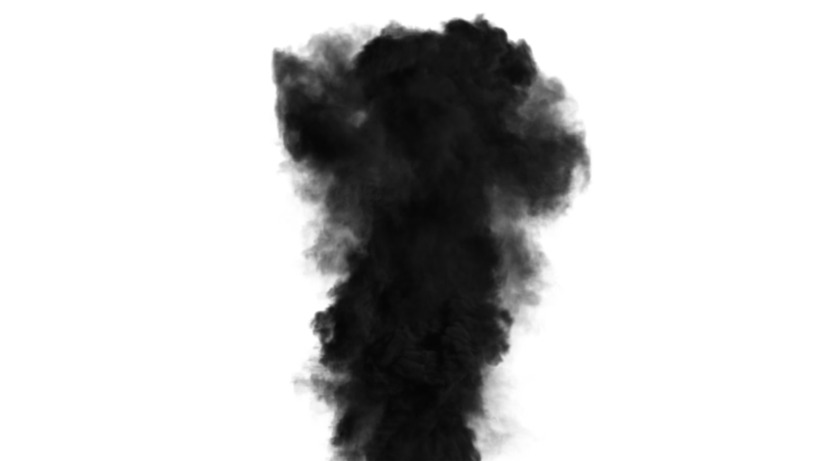Smoke plume png. Dark by ashrafcrew on