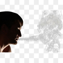 Smoke clipart face. Ring png vectors psd