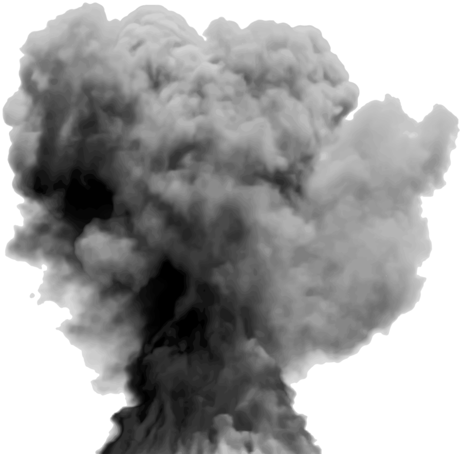 Smoke explosion png. By hz designs on