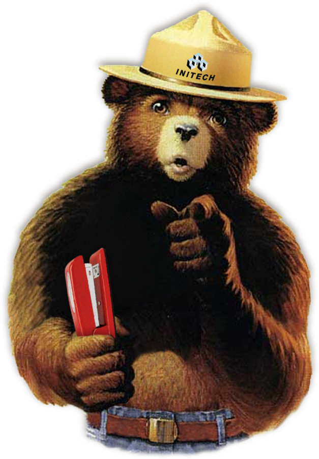 Smokey the bear png. This is a photoshop