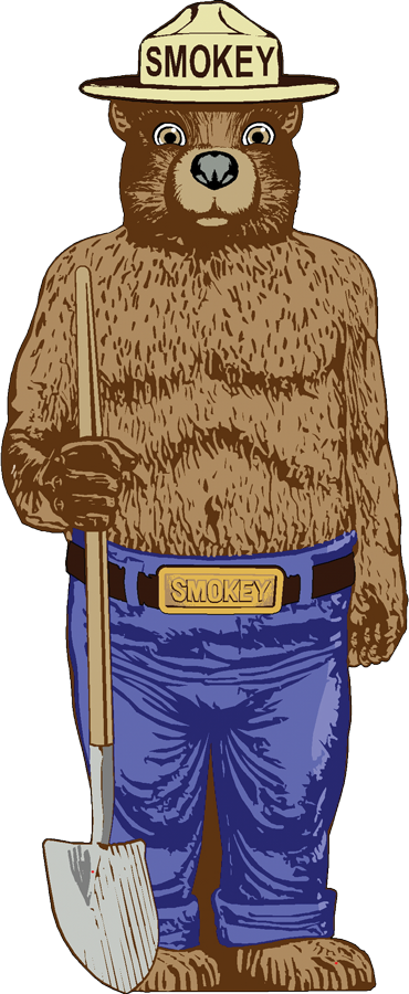 Smokey the bear png. And fire prevention smokeyzone