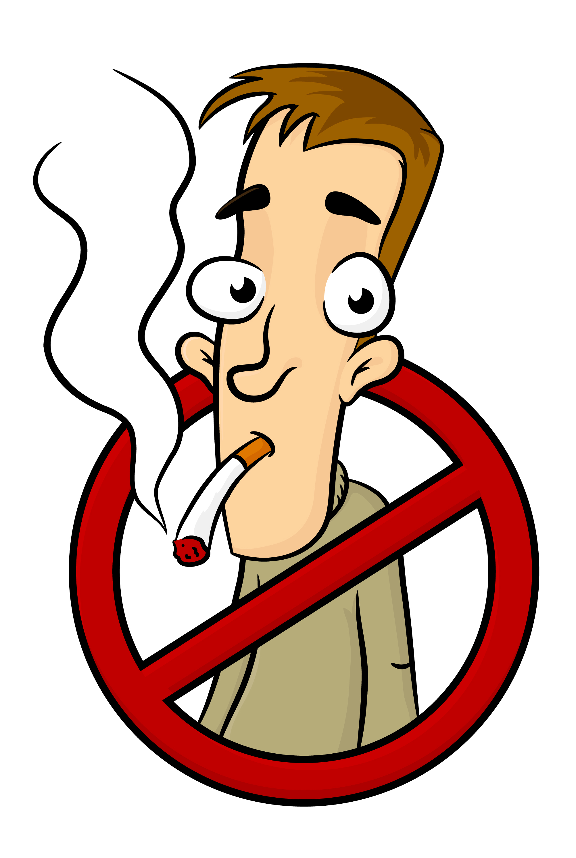Smoking clipart. Bad