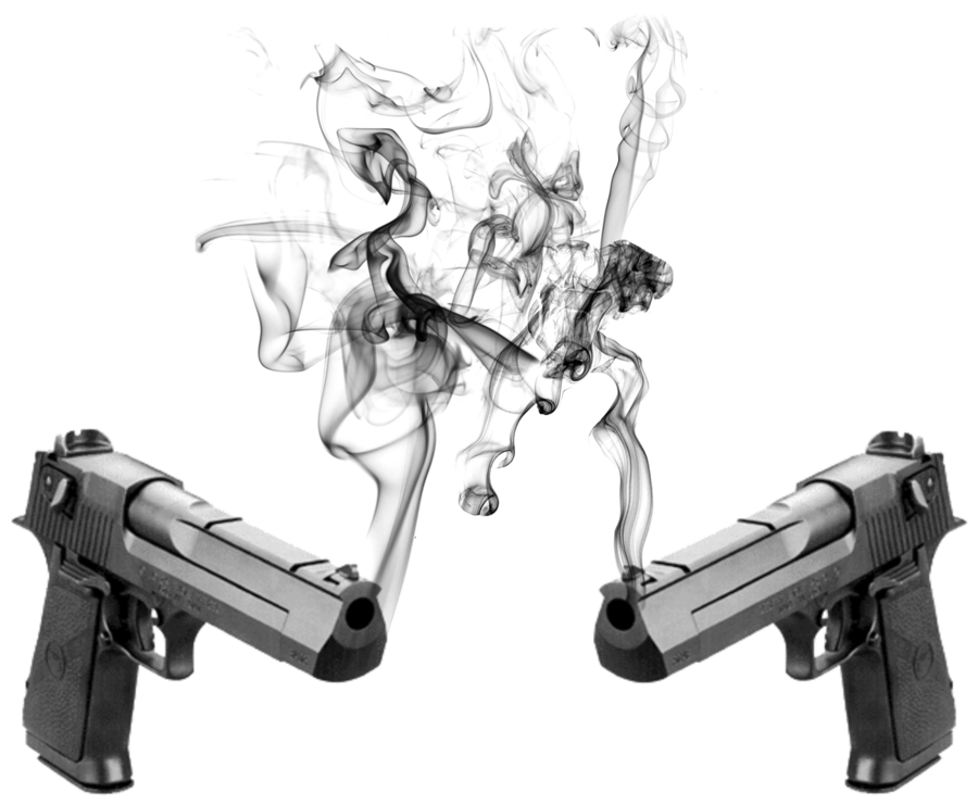 Smoking gun png. Guns logo by slynge