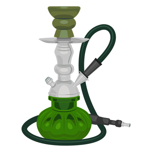 Smoking hookah png. Illustration transparent svg vector