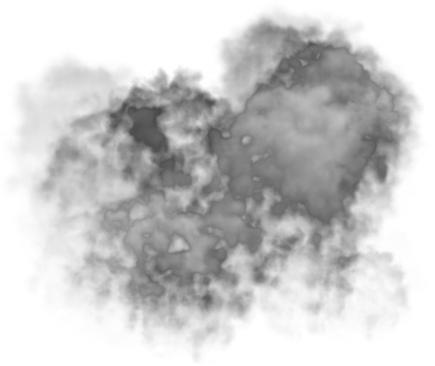 Mist drawing cloud. Smoke effect png transparent