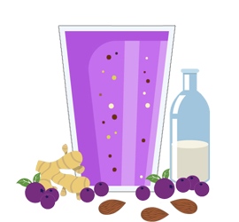 Smoothie clipart cooking. Soy milk archives smoothfuel