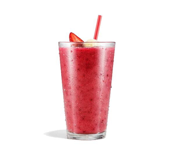 Smoothie transparent fruit. Food service designed specifically