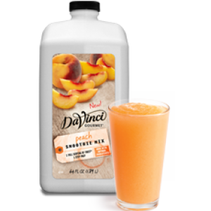 Smoothie transparent gourmet. Your caf blended mixes