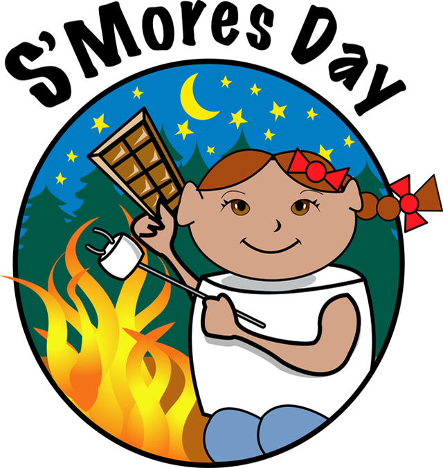 S'mores clipart campfire. Clip art for s