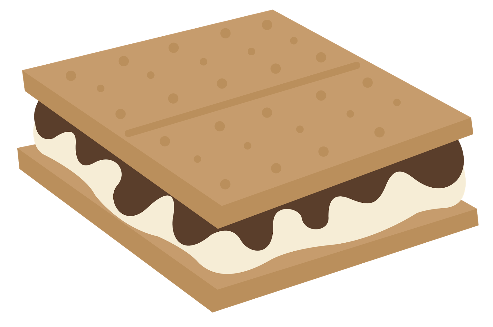 S'mores clipart goodness. S mores group smores