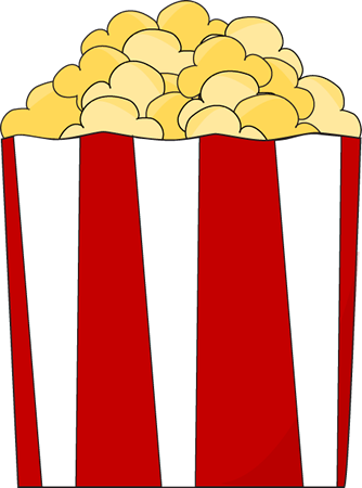 to the clipart popcorn