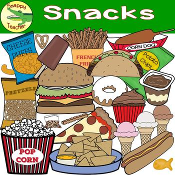 Snack clipart snack food. Clip art by snappy