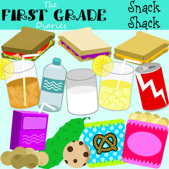 Snack clipart snack shop. The first grade diaries