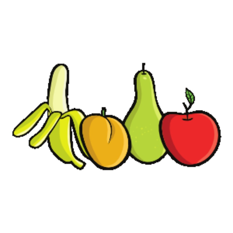Snack clipart veg. Free fruit cartoon pictures
