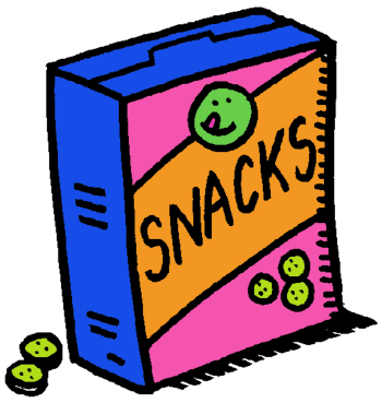 Snacks clipart assistant. Lakeview denville township school
