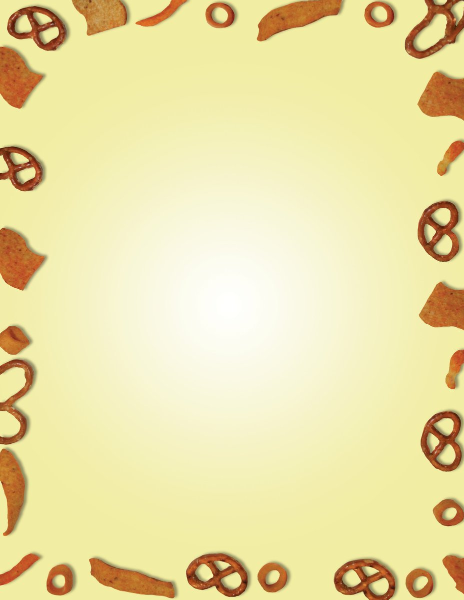 Snacks clipart border. Free red images pictures