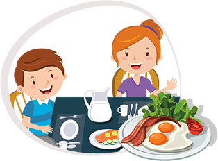 Snacks clipart child snack. Awesome healthy for