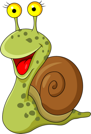 Angry snail png. Funny and turtle psd