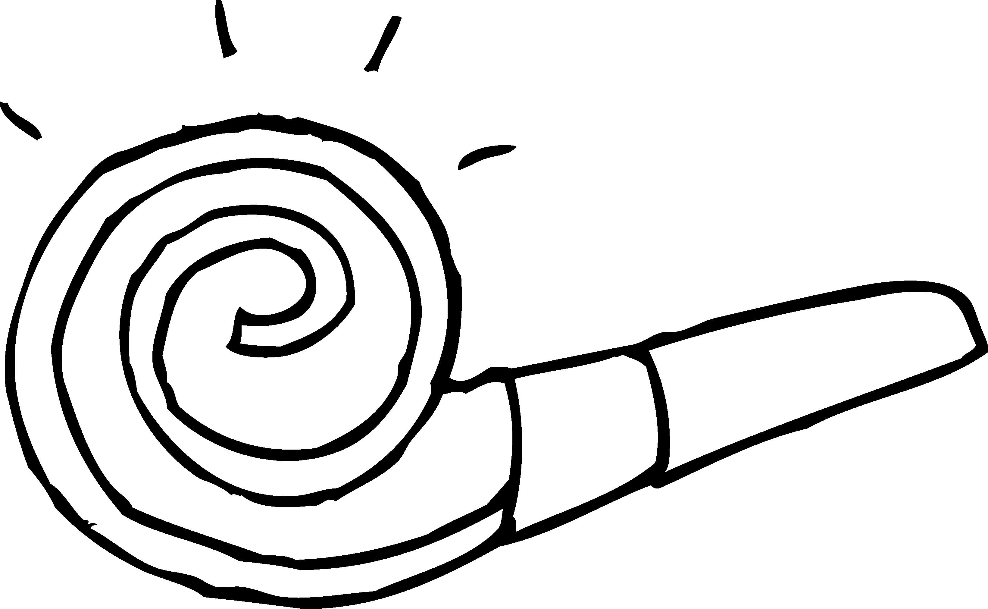 Black and white party horn drawing png. Old west saloon clipart