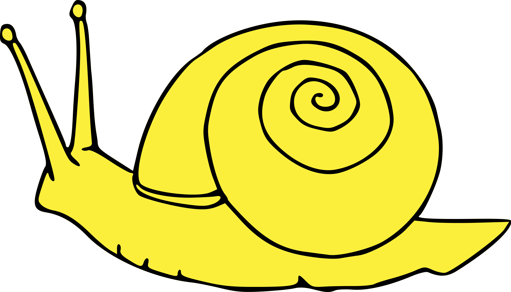 Snail graphic vector png. File escargot svg wikimedia
