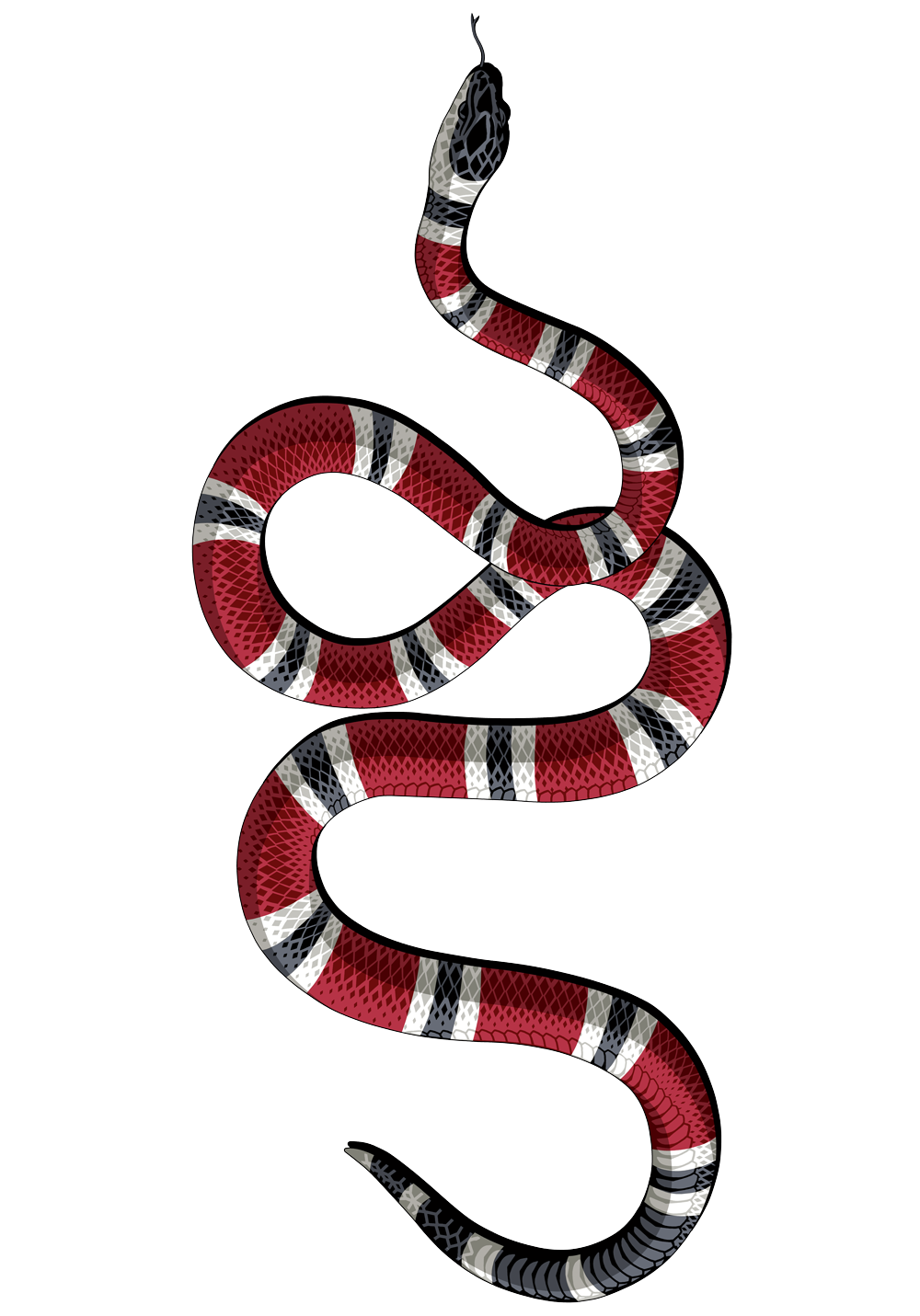 Gucci vector snake. Download decal kingsnakes sticker
