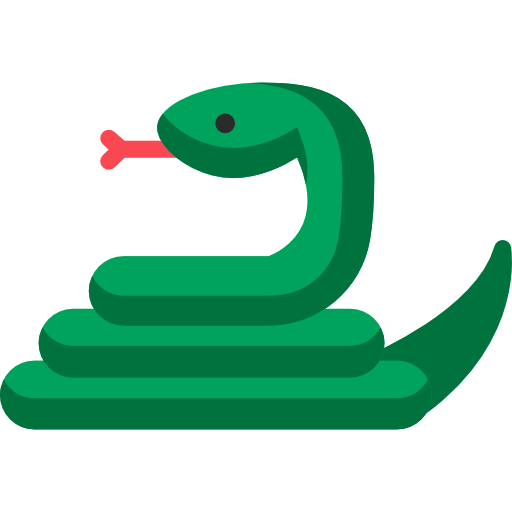 Snake icon png. Free animals icons