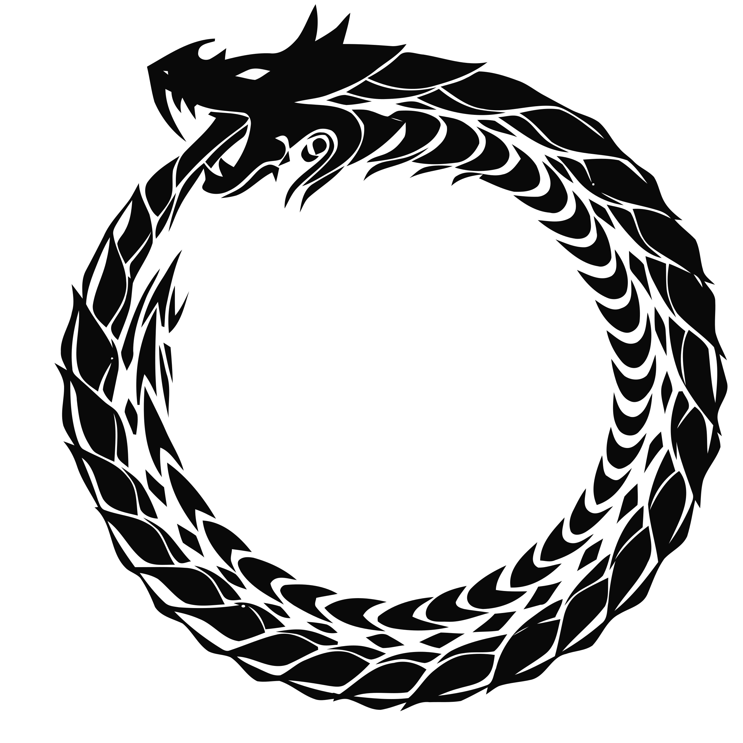 Snake infinity png. And the patterns of