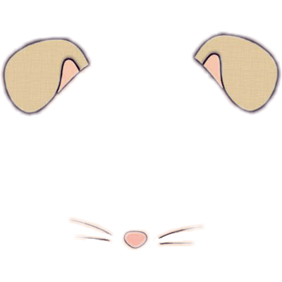 Face sticker transparent stickpng. Snapchat dog png banner library library