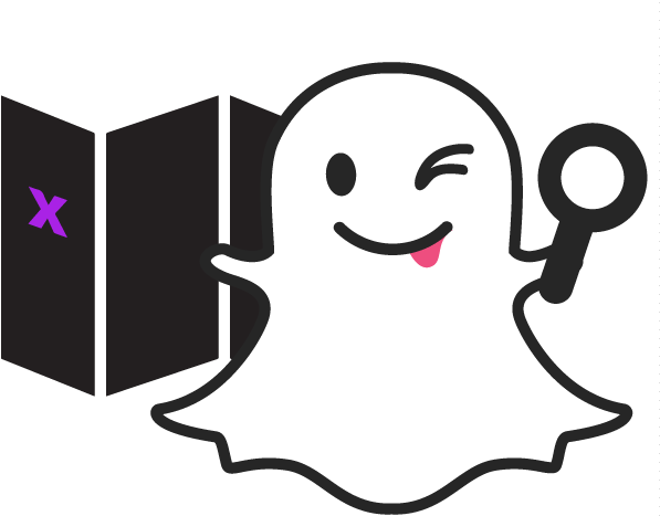 Snapchat ghost png. Download painting mixed media