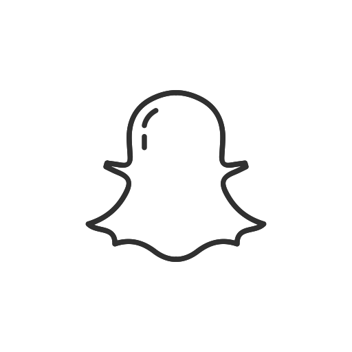 Snapchat ghost png. Ui by vectto label