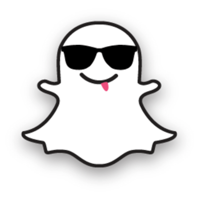 Snapchat ghost png. Outline transparent stickpng sunglasses