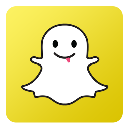 Snapchat icon png. Flat gradient social iconset