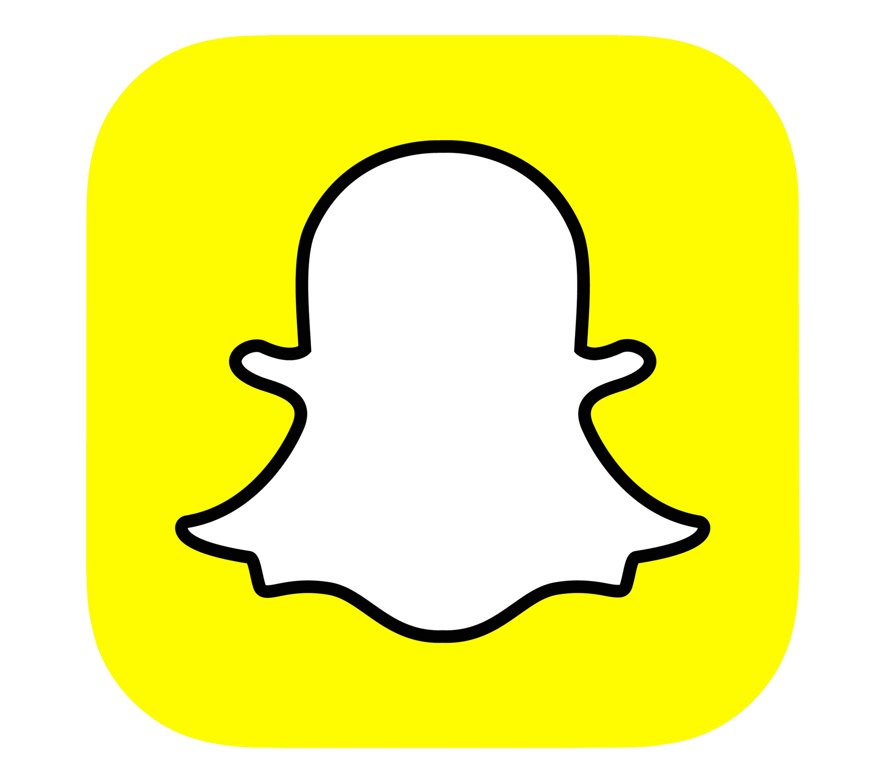 Snapchat logo png transparent background. Free icons and