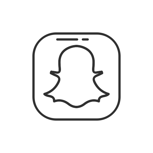 Snapchat logo png white. Ui by vectto ghost