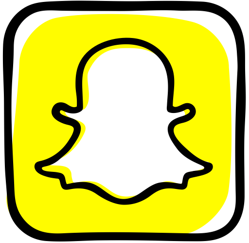 Snapchat png icon. Page svg more