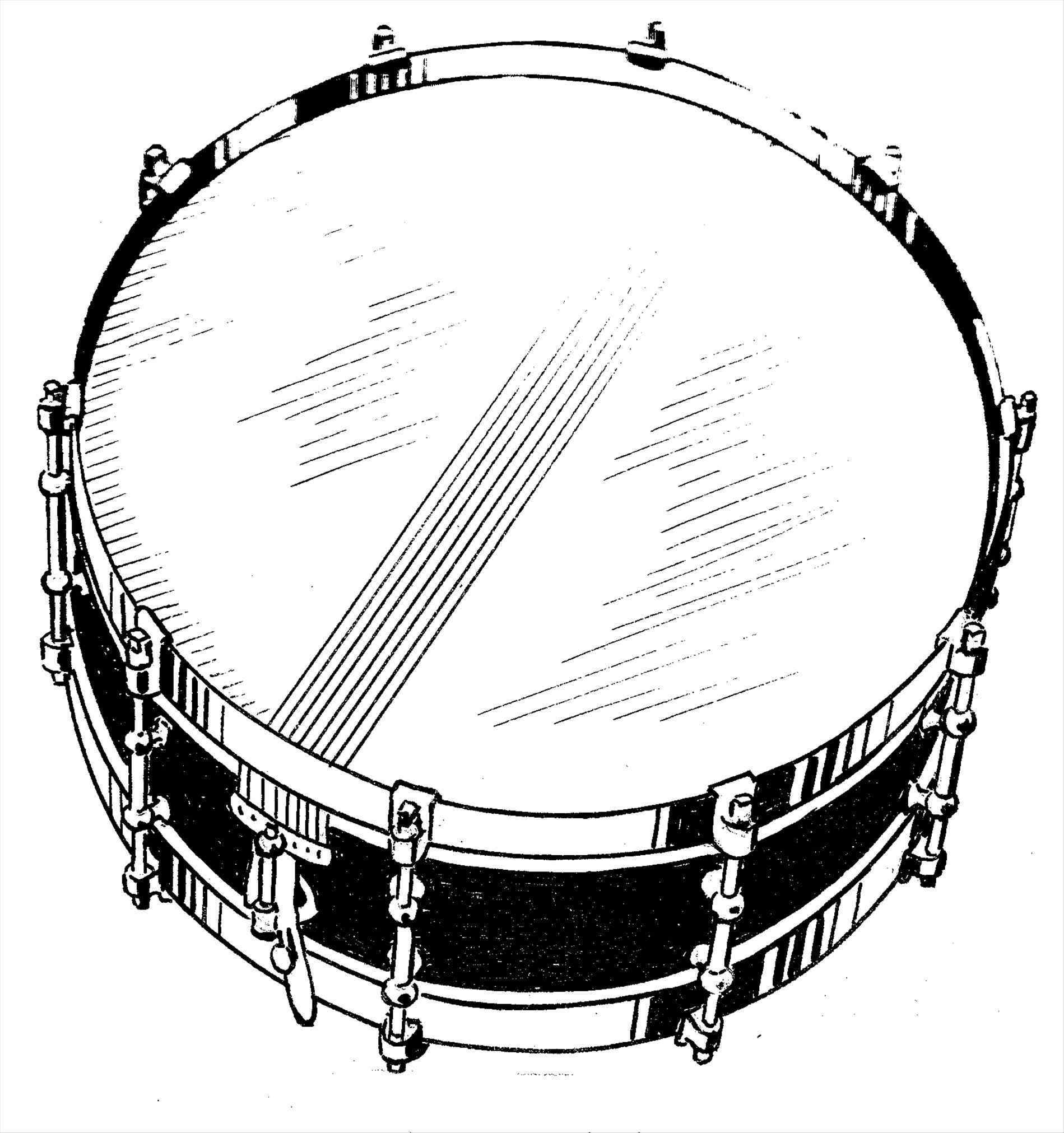 Snare clipart. By m colgrass rhlonestarpercussioncom