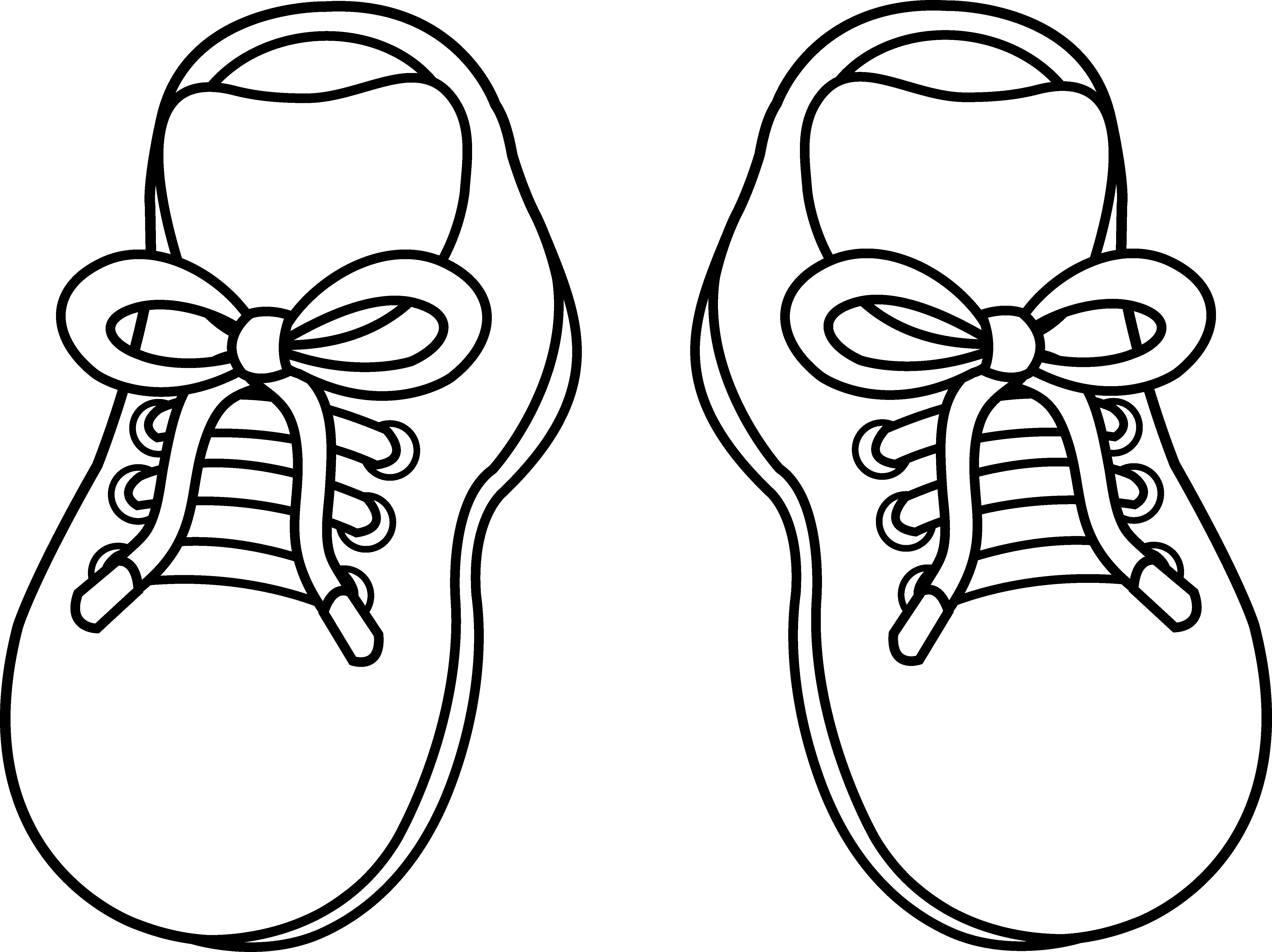Boots svg spur drawing. Pair of childrens shoes