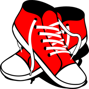 Sneaker clipart small shoe. Sneakers clip art at