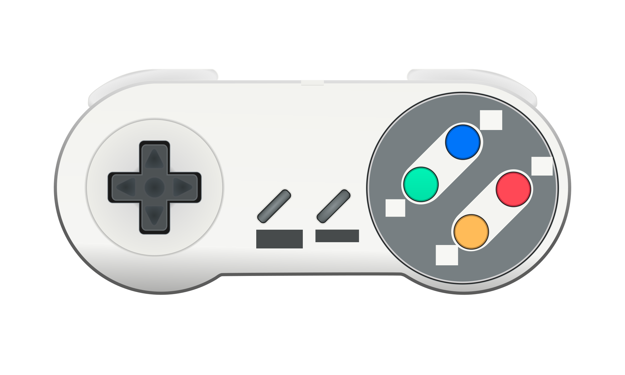 Snes controller png. File svg wikimedia commons