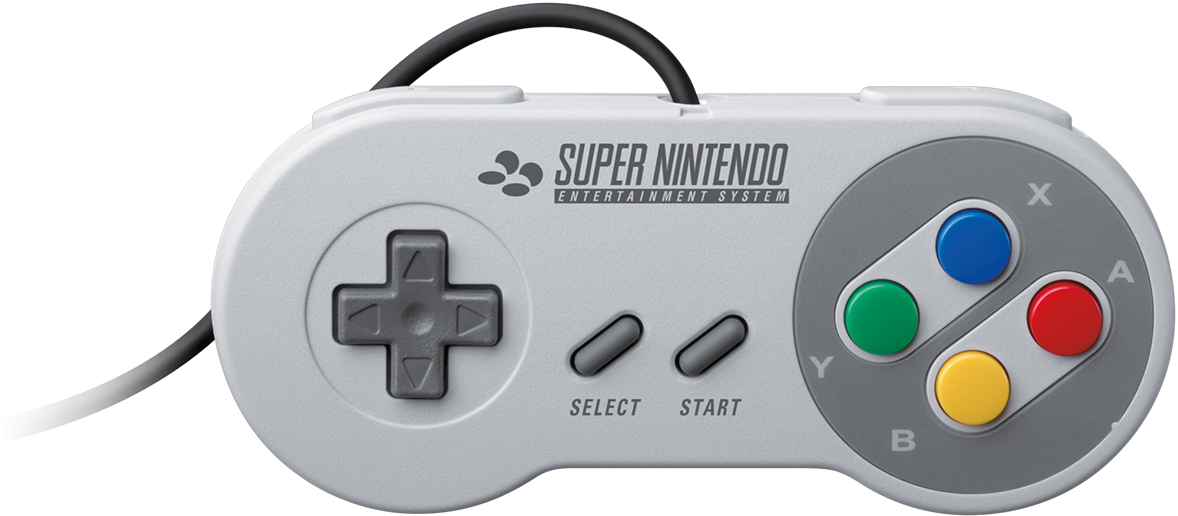 Snes controller png. Reasons the mini