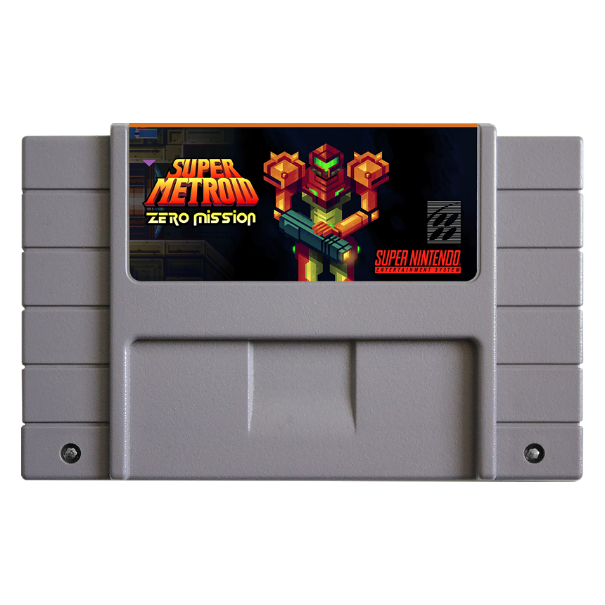 Snes game cartridge png. Super metroid zero mission